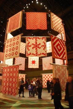 Three NYC Quilt and Textile Exhibit -2