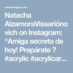 "Natacha AlzamoraVissariónovich on Instagram: ""Amiga secreta de hoy! Prepárate 🎁 #acrylic #acrylicart #painting #artist #artwork #luckygirl #acrylicpainting #lovetopaint #paint #create #creative #wallart #abstractart #creativeprocess #creativeminds #proud #art #art🎨 #contemporaryart #painting #artgirl #sundayart #colours #narcissismatitsbest"""