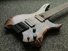 This Amazing Guitars Creature Stephallen 2016 . Guitar Diy, Music Guitar, Cool Guitar, Bass Ukulele, Guitar Chords, Acoustic Guitar, Electric Guitar Kits, Cool Electric Guitars, Unique Guitars