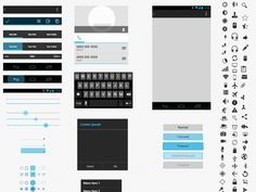 I just downloaded a free resource: Android UI XHDPI Template, for Sketch app on http://www.sketchappsources.com.