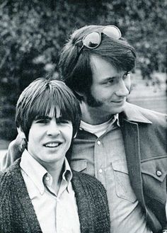 The Monkees: Davy Jones and Mike Nesmith, 1969