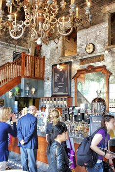 Balzac Caffee is one of Toronto's best coffee shops. Find it in the Distillery District, Toronto, Canada. Visit Canada, O Canada, Canada Travel, Toronto Vacation, Toronto Travel, Best Coffee Shop, Coffee Shops, Montreal, Alaska