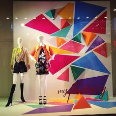 "MACY'S, SF, USA, ""My Fantasy"", pinned by Ton van der Veer"