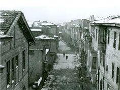 Yeldeğirmeni, Recaizade Sokak, 1960'lar.