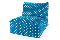 This looks like a great idea for a teen bedroom, but are thet comfortable or destined just to be additional depositary for clothing/paperwork/'stuff' that seems to be breeding in my teenagers room at least?  If any one has one and can tell me I would appreciate a comment.  Thank you.  - BWE  Small Polka Dot Bean Bag Chair, Ocean