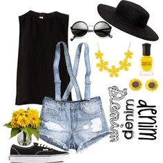 """Denim"" by nora ray on Polyvore"