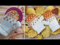knitting on a round loom * knitting on a round loom Loom Knitting For Beginners, Round Loom Knitting, Loom Knitting Stitches, Loom Knit Hat, Loom Knitting Projects, Yarn Projects, Loom Crochet, Loom Bands, Loom Patterns