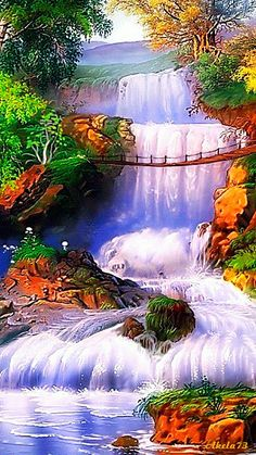 ⭐***GIF***Waterfall⭐ ➡ check out my GIF's galore board for more!