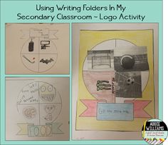 How I used Writing Folders in my ELA classroom last year.  I loved them!!