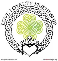 Tattoo idea... Great for us Irish!!