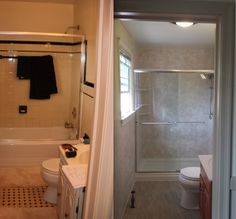 1000 Images About Re Bath Before After On Pinterest Tub To Shower Conversion Remodel