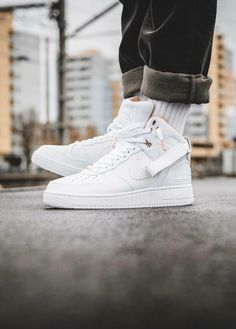 Nike Air Force 1 Mid: White