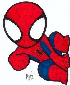 Cute superheroes drawing... | Superheroes And Whatnot ...