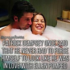 Aww I know they have families but they would be so cute! Aww I know they have families but they would be so cute! Greys Anatomy Derek, Greys Anatomy Funny, Greys Anatomy Episodes, Greys Anatomy Characters, Greys Anatomy Couples, Greys Anatomy Cast, Grey Anatomy Quotes, Patrick Dempsey, Grey Quotes