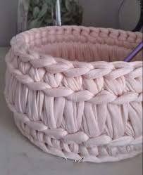 Výsledek obrázku pro dantel örgü sepet modelleri