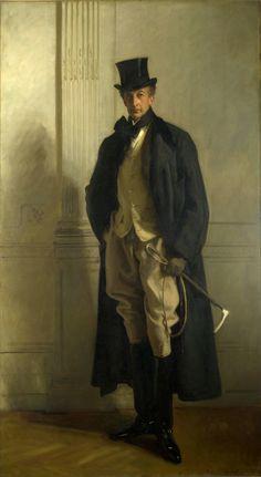 John SINGER SARGENT, peintre américain du XIXè siècle. -