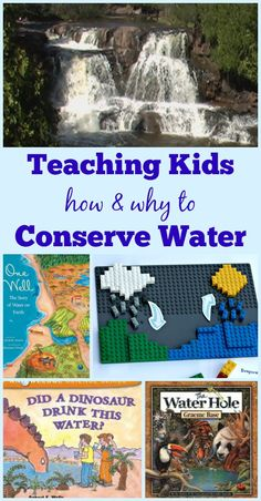 Teaching Kids about the water cycle & water conservation | environmental science and STEM for kids