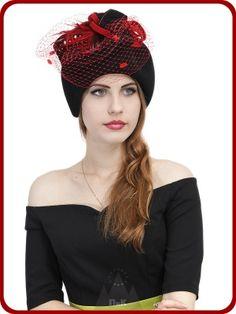 Шляпка Габриэлла - Женские шапки - Из велюра