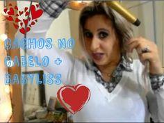TUTORIAL: Cachos no cabelo + babyliss - YouTube