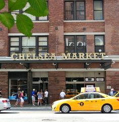 Shopping in NYC (Chelsea Market, The High Line)