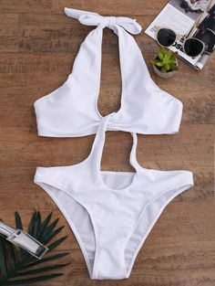 SHARE & Get it FREE | Keyhole Disassembled Swimwear - WhiteFor Fashion Lovers only:80,000+ Items • New Arrivals Daily Join Zaful: Get YOUR $50 NOW!