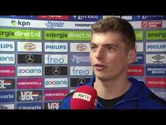 (1) Max verstappen interview bij psv - ajax - YouTube