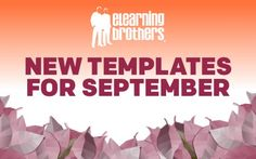 Every month we release new eLearning templates across all of the major eLearning tools. Check out our September 2015 collection and start downloading today!