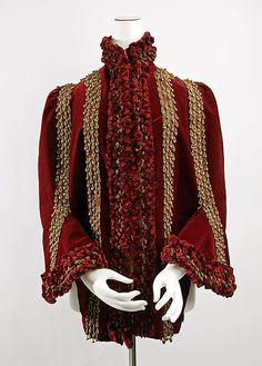 Coat 1880, French