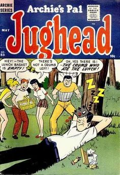 Archie and Jughead Cartoon | Archie's Pal: Jughead #53 comic books - cover scans photos Archie's ...