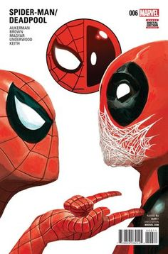 Spiderman and Deadpool Marvel Comics, Heros Comics, Bd Comics, Marvel Heroes, Captain Marvel, Comic Book Characters, Marvel Characters, Comic Character, Comic Books Art