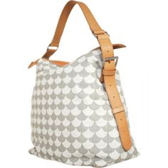 Littlephant grey on grey Waves changing bag