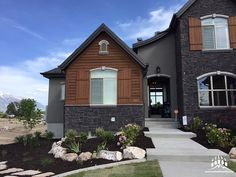 This beautiful home features our @gsharrisco Chief Joseph (Color: Midnight)  ----- www.KodiakMountain.com  ----- #KodiakMountainStone    #HomeBuilding #HomeBuilder #HomeBuilders #CustomHomes #Luxury #LuxuryHome #Construction #RealEstate #fireplace #architect #designer #contractor #interiorhome #Builder #picofday #Lethbridge #homedesign #Alberta #bestoftheday #instadaily #inspiration #homestyle #homeconstruction #dreamhome #renovation #stoneveneer #stonework #masonry… Chief Joseph, Stone Veneer, Stone Work, Home Fashion, Home Builders, Custom Homes, Luxury Homes, Beautiful Homes, Building A House
