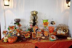 Trick-or-Treat Candy Buffet