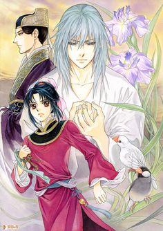 Kairi Yura, Madhouse, Saiunkoku Monogatari, Saiunkoku Monogatari Illustrations, Reishin Kou