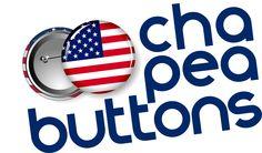 Chapea aterriza en USA, comenzamos una nueva aventura en Estados Unidos con la venta de nuestros principales productos personalizados.  www.ChapeaButtons.com  #Buttons #KeyRings #Stickers #Magnets #Chapea