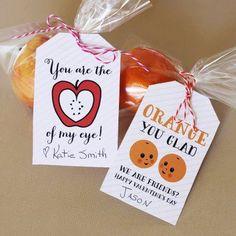 Cute idea for a little healthy gift