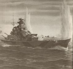 Future Class H german super battleship (successor of Bismark class)