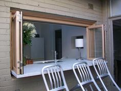 bifold servery window - Google Search