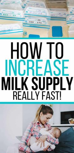 Breastfeeding 101: How to increase milk production