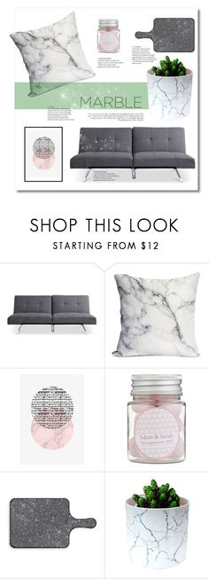 """""""Marble"""" by tina-miholic ❤ liked on Polyvore featuring interior, interiors, interior design, home, home decor, interior decorating and marblehome"""
