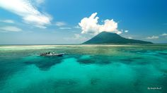 Bunaken Island, North Sulawesi, Indonesia. Bunaken is well-known for its highest level of biodiversity. There are at least 58 different genera and sub-genera of corals and 2,000 species of fish are found in the marine park.   Community Post: 12 Indonesian Paradise Islands You Should Totally Visit