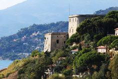 Ventimiglia - Forte dell'Annunziata - defense tower, also used in the past as cloister, now hosting a museum. liguria