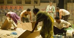 Production Shot: #ntlive's #BehindtheBeautifulForevers comes to Riverside's Big Screen, 25 - 26 April. #RiversideScreen