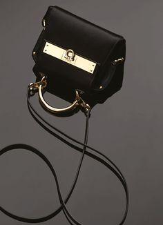 ac5ad497255 Ferragamo mini Sofia handbag with gold hardware detail. www.Ferragamo.com  Mini Bag