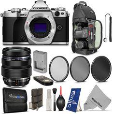 Olympus OM-D E-M5 Mark II Camera + M. Zuiko Digital ED 12-40mm f/2.8 PRO Lens #Olympus