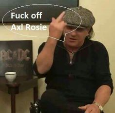 Yeah that would be a good idea , he can´t fill the shoes after Brian Johnson ! Brian Johnson Acdc, Ac Dc Rock, Bon Scott, Angus Young, Greatest Rock Bands, Rock And Roll Bands, Stars Then And Now, Heavy Metal Bands, Rockn Roll