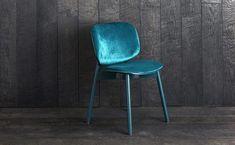 Sim-Ply Dining Chair - Upholstered Seat & Back - Ash Emerald - Chamonix Emerald