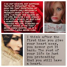 Love Me With Lies Series by Tarryn Fisher   ❤ Collage ❤ originally from www.booksunhinged.com
