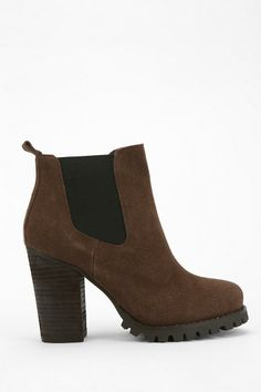 Brash Treaded Ankle Boot #urbanoutfitters