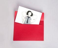 Holiday  postcard    vivid photo of fabric modern by TIMOHANDMADE